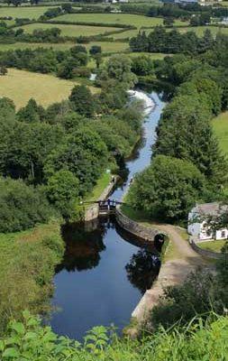 Lock and Weir on the Barrow