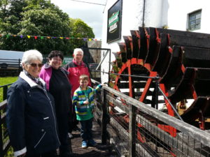 Waterwheel at Kilbeggan Distillery
