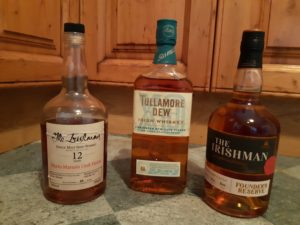 Blended and Malt Whiskeys